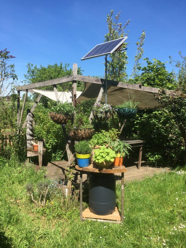 Systeme Arrosage Potager Vacances système d'irrigation automatique – automatic watering system